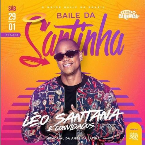 Baile da Santinha em São Paulo